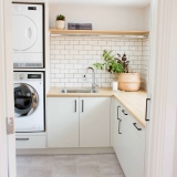 Coastal renovation eyre peninsula laundry ideas