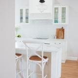 Coastal renovation kitchen